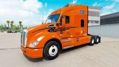 Skin Schneider National on truck Kenworth for American Truck Simulator