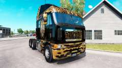 Skin Jaguar on the truck Freightliner Argosy for American Truck Simulator