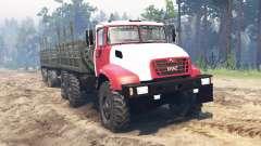 KrAZ-65032 2012 for Spin Tires