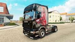 Skin MJBulls on tractor Scania for Euro Truck Simulator 2