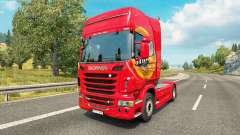 Mezzo Mix skin for Scania truck for Euro Truck Simulator 2