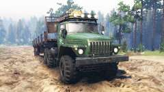Ural-4320 [tractor] for Spin Tires