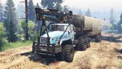 Ural-4320-10 10x10 v2.0 for Spin Tires