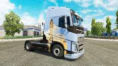 Dreams skin for Volvo truck for Euro Truck Simulator 2