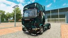 Space Scene skin for Scania truck for Euro Truck Simulator 2