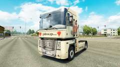 Pinup skin for Renault truck for Euro Truck Simulator 2