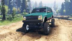 Jeep Cherokee XJ 1996 v2.0 for Spin Tires