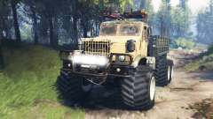 KrAZ-255 [piece of iron] v3.0 for Spin Tires
