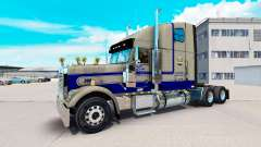 Skin Leavitts on the truck Freightliner Classic XL for American Truck Simulator