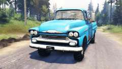 Chevrolet Apache 1959 v4.0 for Spin Tires