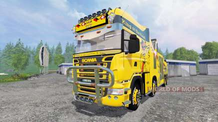 Scania R500 [tow truck] for Farming Simulator 2015