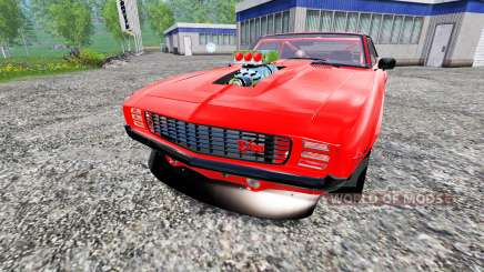 Chevrolet Camaro Z28 1969 for Farming Simulator 2015