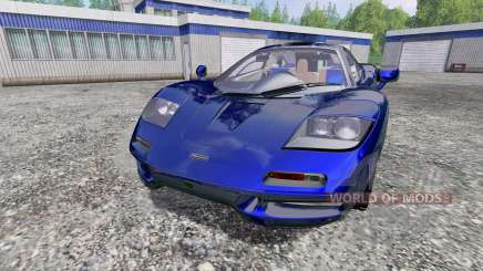 McLaren F1 for Farming Simulator 2015