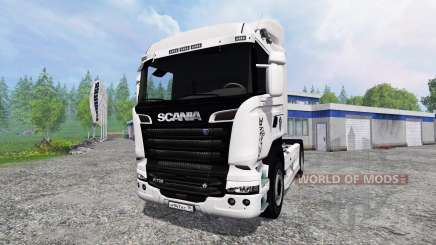 Scania R730 Streamliner v2.0 for Farming Simulator 2015