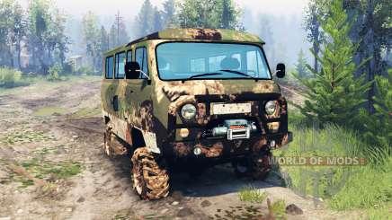 UAZ-2206 v6.0 for Spin Tires