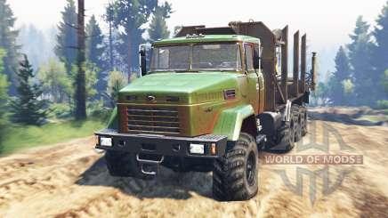 KrAZ-7140 v2.0 for Spin Tires