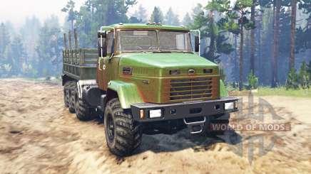 KrAZ-7140 for Spin Tires