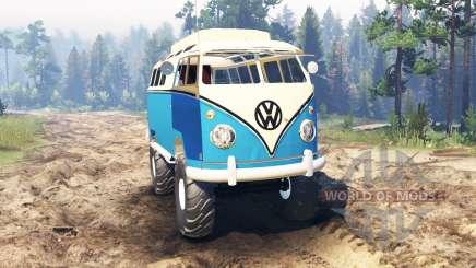 Volkswagen Transporter T1 for Spin Tires