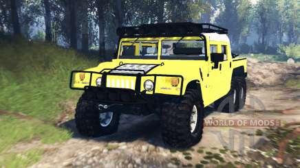 Hummer H1 6x6 Raptor v3.0 for Spin Tires