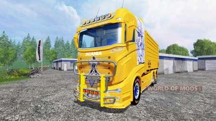 Scania R1000 [tipper] for Farming Simulator 2015