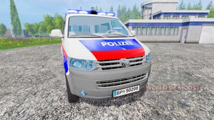 Volkswagen Transporter T5 Police v2.0 for Farming Simulator 2015