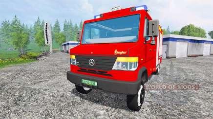 Mercedes-Benz Vario 818 D [feuerwehr] v0.9 for Farming Simulator 2015