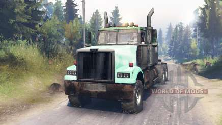 Western Star 4900 for Spin Tires