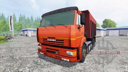 KamAZ-6520 for Farming Simulator 2015