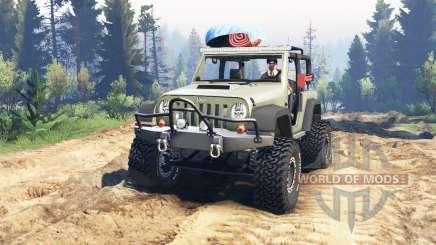 Jeep Wrangler Renegade (JK) v2.0 for Spin Tires