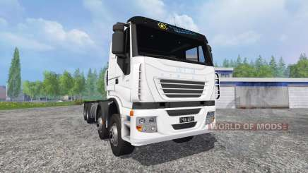 Iveco Stralis [clixtar] v1.4 for Farming Simulator 2015