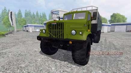 KrAZ-257 for Farming Simulator 2015
