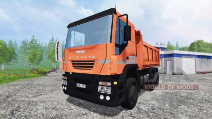 Iveco Stralis [tipper] v2.0 for Farming Simulator 2015