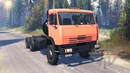 KamAZ-65111 v2.0 for Spin Tires