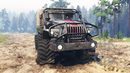 Ural-43206 [scout] for Spin Tires