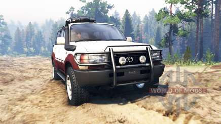 Toyota Land Cruiser 80 VX 1990 for Spin Tires