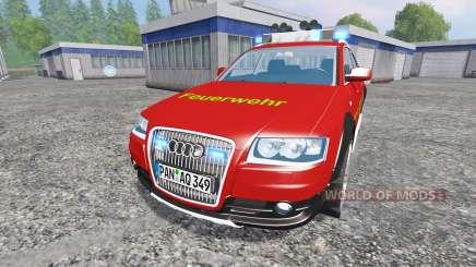 Audi A6 (C6) Avant [feuerwehr] for Farming Simulator 2015