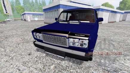 VAZ-2107 v2.0 for Farming Simulator 2015