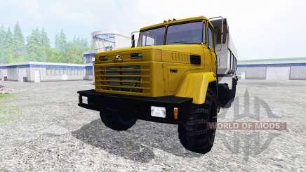 KrAZ-7140С6 for Farming Simulator 2015