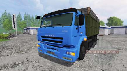 KamAZ-65117 [turbo] for Farming Simulator 2015