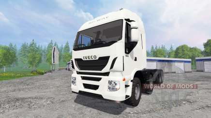 Iveco Stralis Hi-Way 8x8 for Farming Simulator 2015