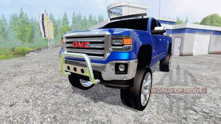 GMC Sierra 1500 2014 [better sounds] for Farming Simulator 2015