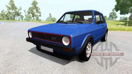 Volkswagen Golf Mk1 for BeamNG Drive