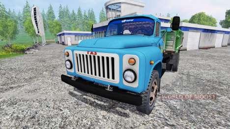 GAZ-53 [zernotrans] v3.0 for Farming Simulator 2015