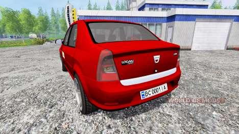 Dacia Logan v1.2 for Farming Simulator 2015