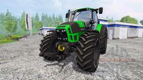 Deutz-Fahr Agrotron 7250 TTV [krone] for Farming Simulator 2015