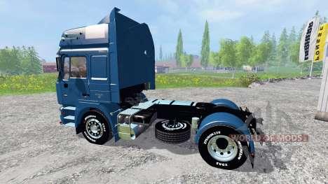 MAN F2000 19.603 FLS v1.3 for Farming Simulator 2015