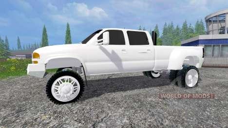 GMC Sierra 3500HD 2006 for Farming Simulator 2015