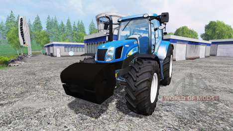 New Holland TS 135A for Farming Simulator 2015