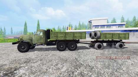 ZIL-157 v2.0 for Farming Simulator 2015