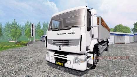 Renault Premium Distribution for Farming Simulator 2015